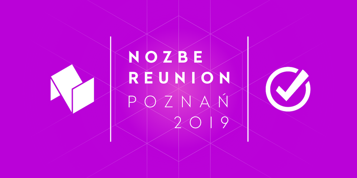 Nozbe Reunion - Poznan (November 18-22, 2019) - customer support slowdown