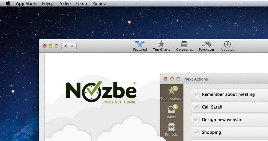 Nozbe For Mac On The Mac App Store