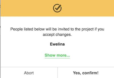 Project de-invite