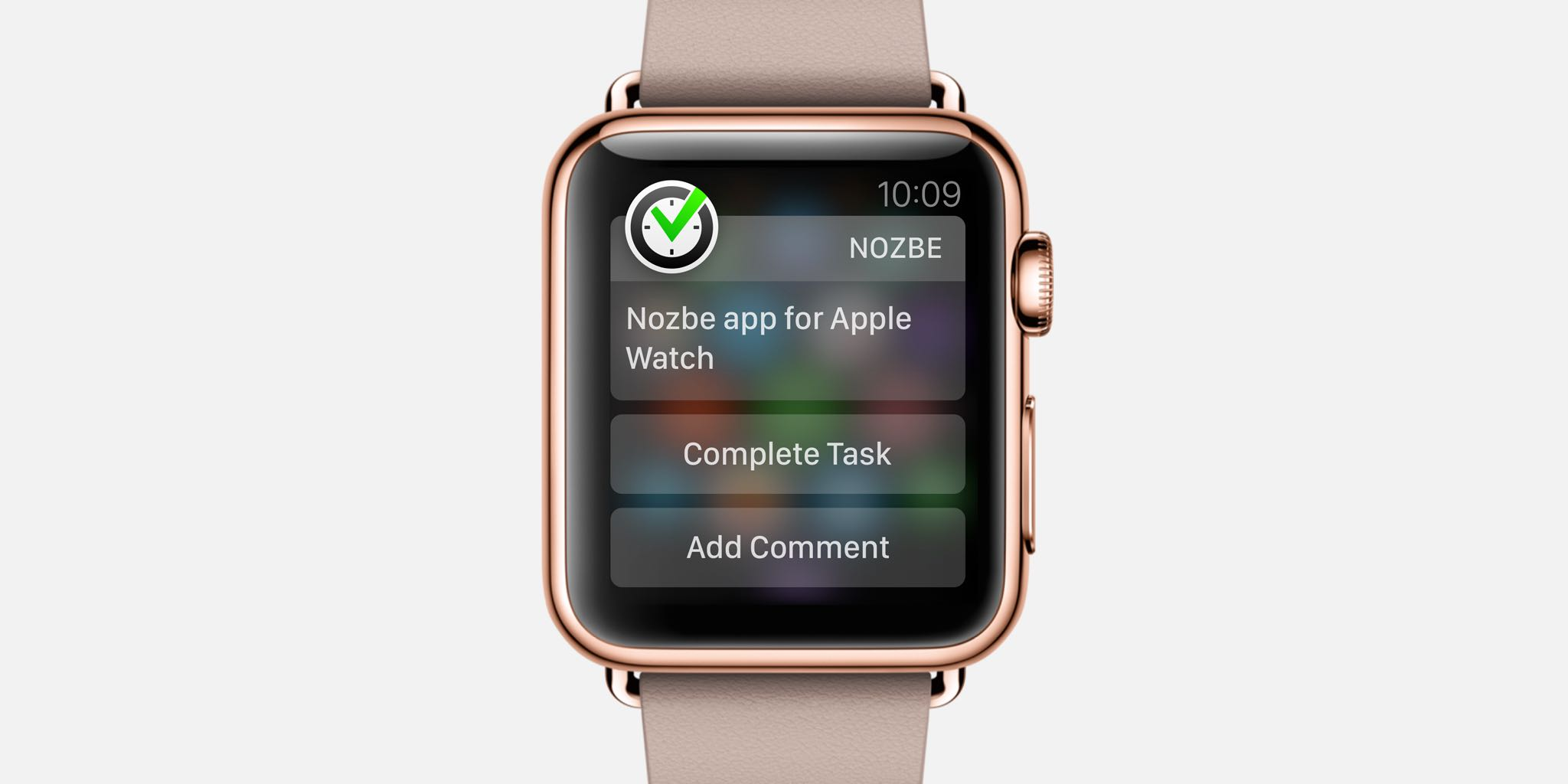 Nozbe for  Watch