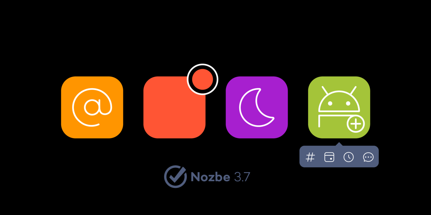 New Nozbe version Nozbe 3.7