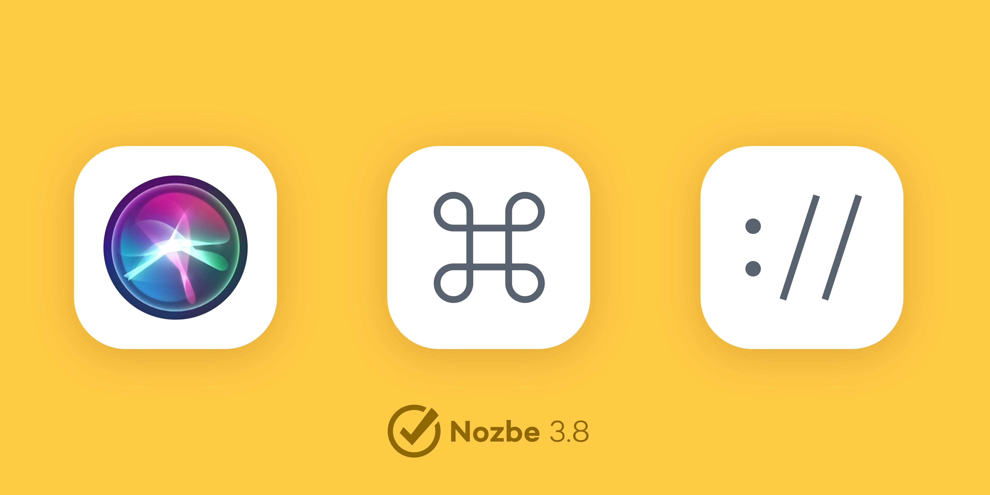 全新的Nozbe 3.8
