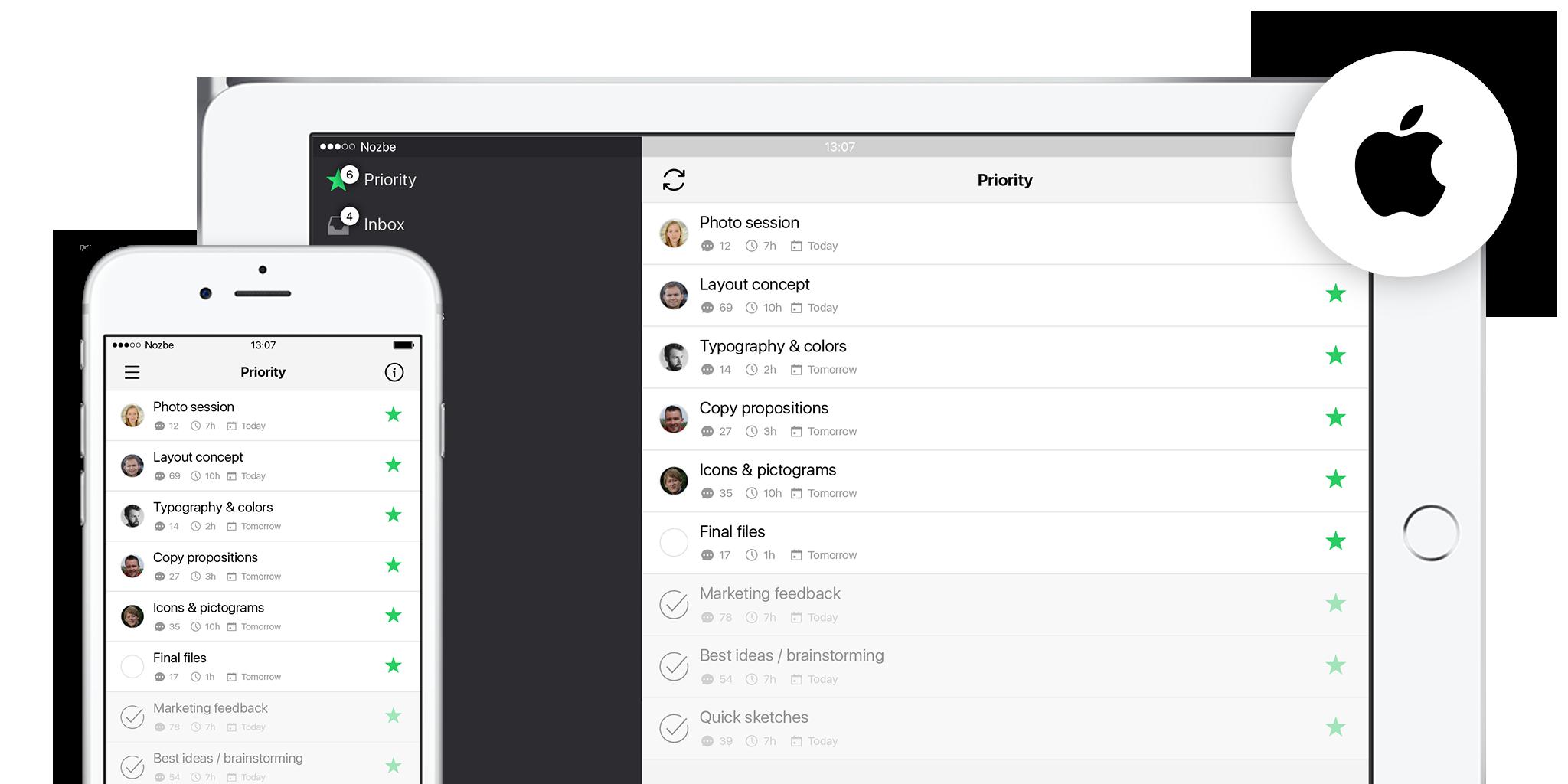 Nozbe iOS App
