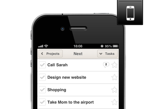 Nozbe for iPhone