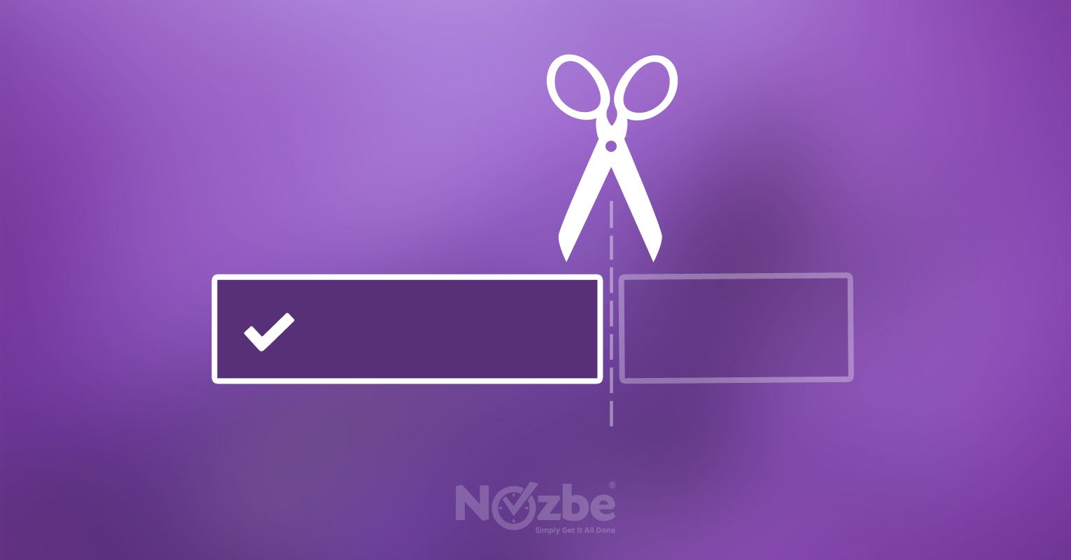 Keep short Nozbe task names