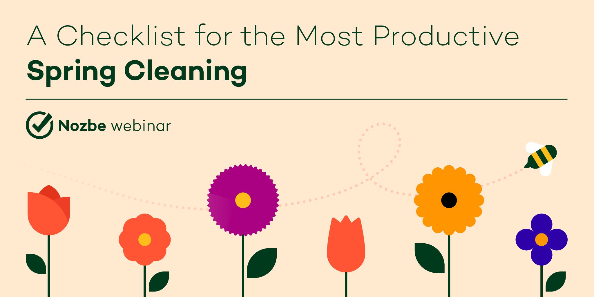 Projects spring cleaning checklist webinar